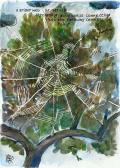 A spiderweb of nerves streaming awareness connecting into the faraway corners of being.