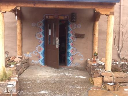 Photo of the entrance to High Desert Yoga